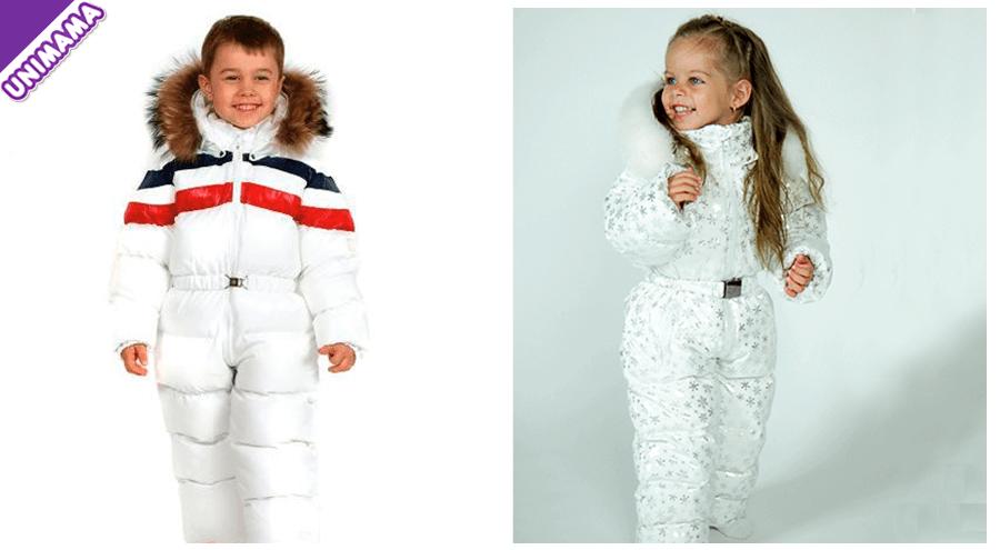зимние комбинезоны для детей на возраст 4-5 лет
